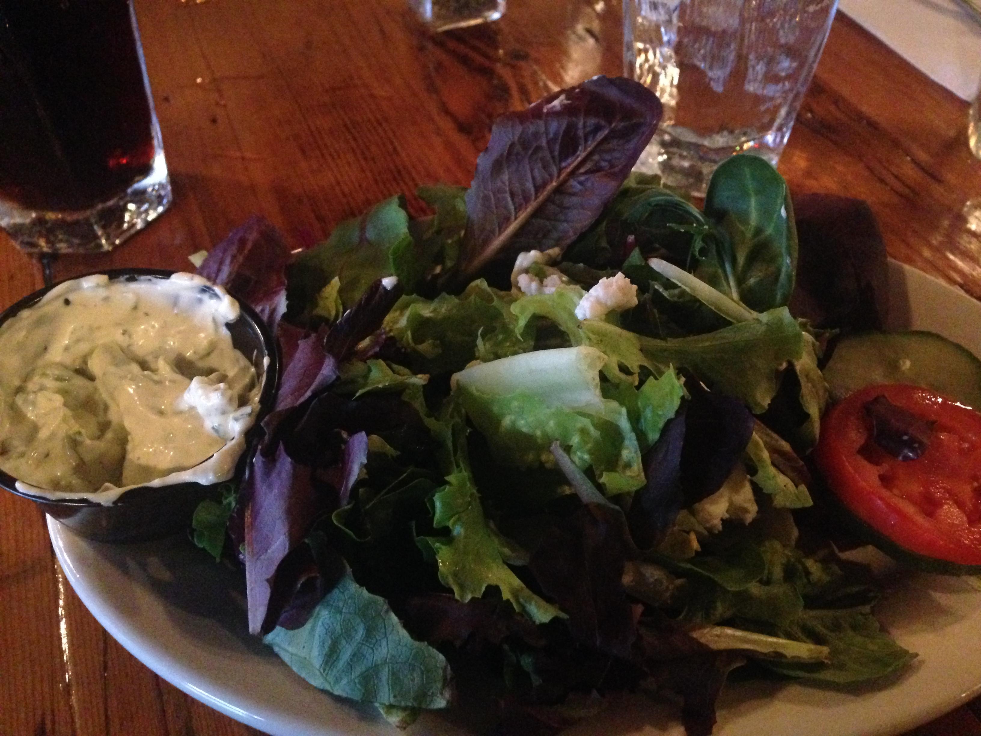 Miltons salad